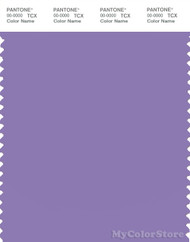 PANTONE SMART 17-3730X Color Swatch Card, Paisley Purple