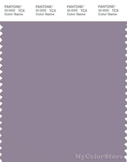 PANTONE SMART 17-3810X Color Swatch Card, Purple Ash