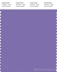 PANTONE SMART 17-3834X Color Swatch Card, Dahlia Purple