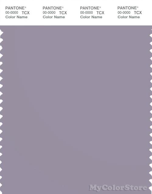 PANTONE SMART 17-3910X Color Swatch Card, Lavender Gray