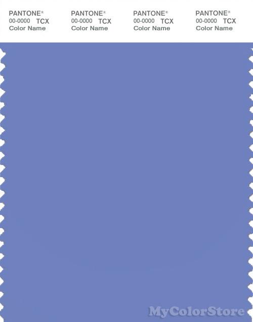 PANTONE SMART 17-3934X Color Swatch Card, Persian Jewel