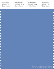 PANTONE SMART 17-3936X Color Swatch Card, Blue Bonnet