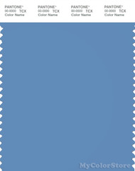 PANTONE SMART 17-4030X Color Swatch Card, Silver Lake Blue