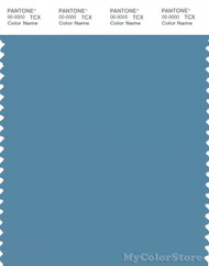 PANTONE SMART 17-4123X Color Swatch Card, Niagara