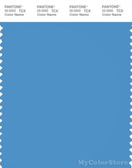 PANTONE SMART 17-4139X Color Swatch Card, Azure Blue