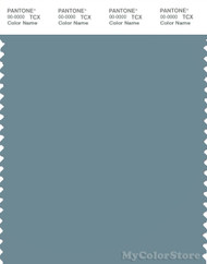 PANTONE SMART 17-4412X Color Swatch Card, Smoke Blue