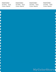 PANTONE SMART 17-4440X Color Swatch Card, Blue Danube