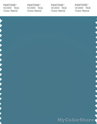 PANTONE SMART 17-4716X Color Swatch Card, Storm Blue