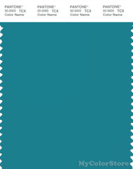 PANTONE SMART 17-4724X Color Swatch Card, Pagoda Blue