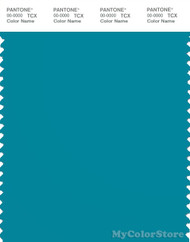 PANTONE SMART 17-4728X Color Swatch Card, Algiers Blue