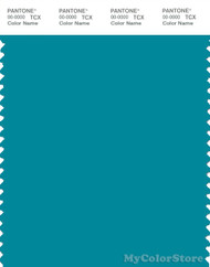 PANTONE SMART 17-4735X Color Swatch Card, Capri Blue
