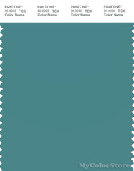 PANTONE SMART 17-4919X Color Swatch Card, Teal
