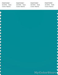 PANTONE SMART 17-4928X Color Swatch Card, Lake Blue