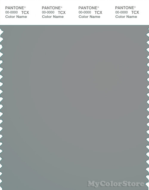 PANTONE Smart 17-5107X Color Swatch Card Chinois Green