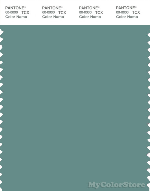 PANTONE SMART 17-5111X Color Swatch Card, Oil Blue