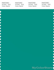 PANTONE SMART 17-5330X Color Swatch Card, Dynasty Green