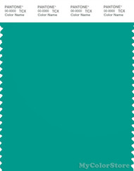 PANTONE SMART 17-5335X Color Swatch Card, Spectra Green
