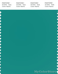 PANTONE SMART 17-5421X Color Swatch Card, Porcelain Green