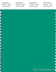 PANTONE SMART 17-5633X Color Swatch Card, Deep Green