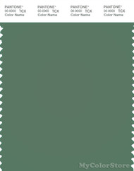 PANTONE SMART 17-5912X Color Swatch Card, Dark Ivy