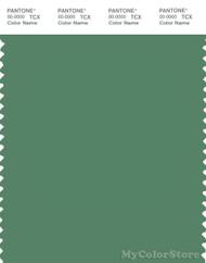 PANTONE SMART 17-6219X Color Swatch Card, Deep Grass Green