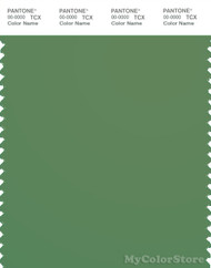PANTONE SMART 18-0110X Color Swatch Card, English Ivy