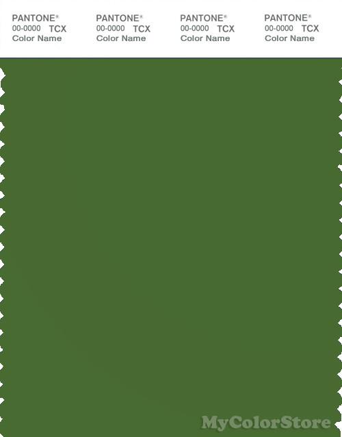 PANTONE SMART 18-0135X Color Swatch Card, Treetop