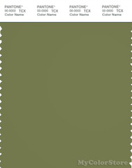 PANTONE SMART 18-0324X Color Swatch Card, Calliste Green