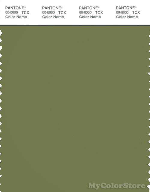 PANTONE SMART 18-0324X Color Swatch Card, Calliste Green