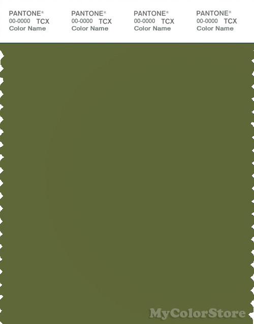 PANTONE SMART 18-0328X Color Swatch Card, Cedar Green