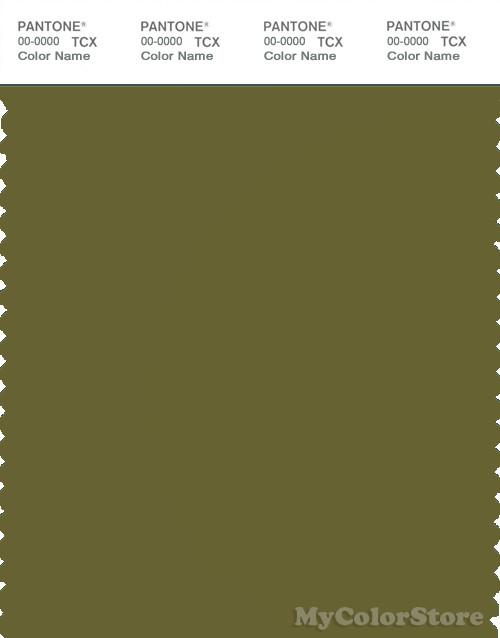 PANTONE SMART 18-0430X Color Swatch Card, Avocado