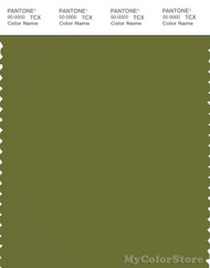 PANTONE SMART 18-0435X Color Swatch Card, Calla Green