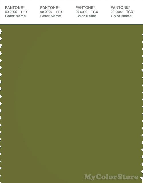PANTONE SMART 18-0435X Color Swatch Card, Calla Green