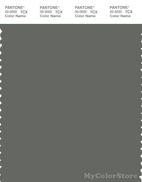 PANTONE SMART 18-0510X Color Swatch Card, Castor Gray