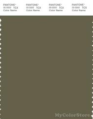 PANTONE SMART 18-0521X Color Swatch Card, Burnt Olive