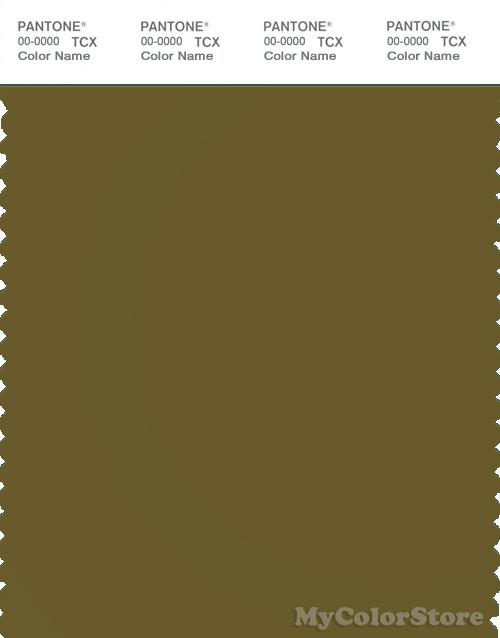 PANTONE SMART 18-0627X Color Swatch Card, Fir Green