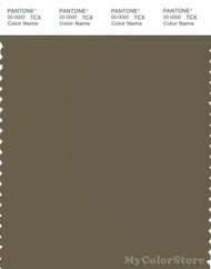 PANTONE SMART 18-0820X Color Swatch Card, Dark Olive Green
