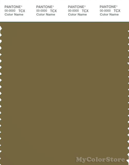 PANTONE SMART 18-0825X Color Swatch Card, Nutria