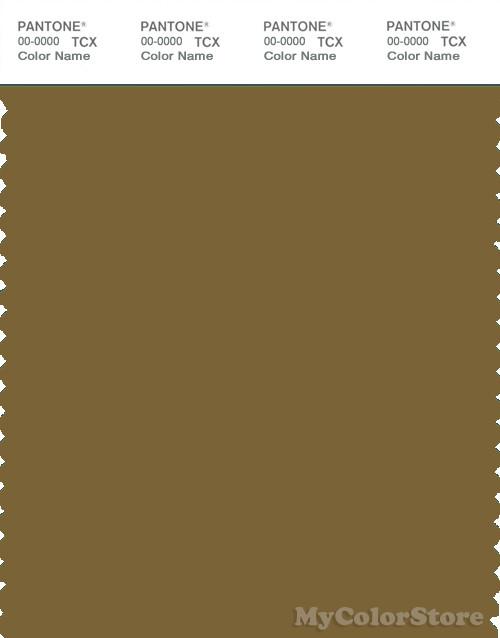 PANTONE SMART 18-0832X Color Swatch Card, Plantation