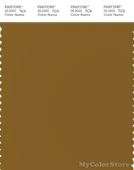 PANTONE SMART 18-0840X Color Swatch Card, Dusky Dull Green