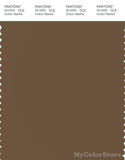 PANTONE SMART 18-0928X Color Swatch Card, Sepia