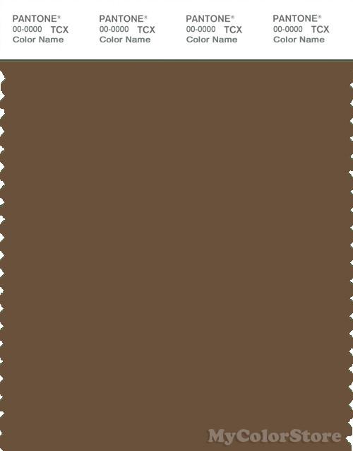 PANTONE SMART 18-0930X Color Swatch Card, Coffee Liqueur