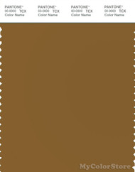 PANTONE SMART 18-0937X Color Swatch Card, Bronze Brown