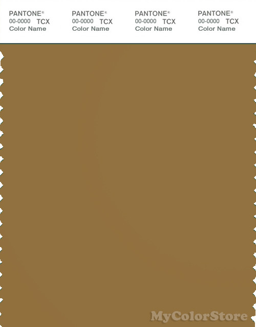 PANTONE SMART 18-0939X Color Swatch Card, Drab