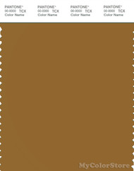 PANTONE SMART 18-0940X Color Swatch Card, Golden Brown
