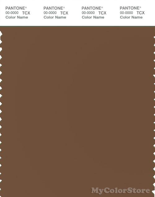 PANTONE SMART 18-1027X Color Swatch Card, Bison