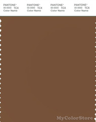 PANTONE SMART 18-1031X Color Swatch Card, Toffee