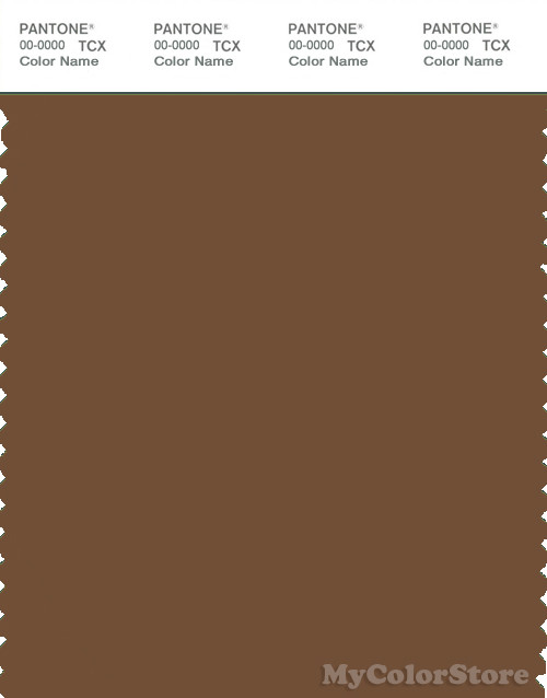 PANTONE SMART 18-1033X Color Swatch Card, Dachshund