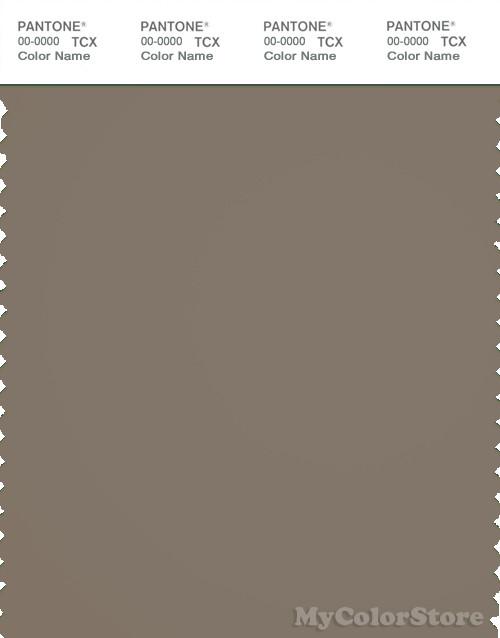 PANTONE SMART 18-1110X Color Swatch Card, Brindle