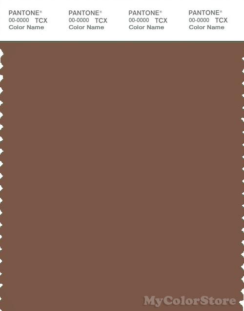 PANTONE SMART 18-1130X Color Swatch Card, Aztec